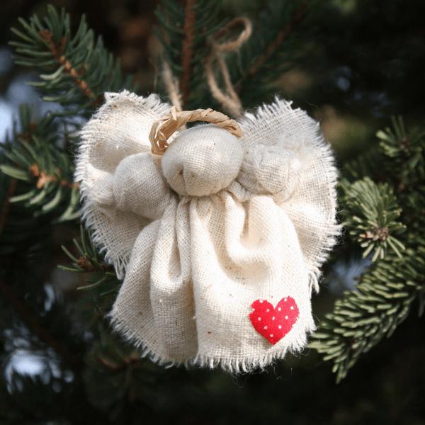 Сделать игрушку на уличную елку своими руками фото