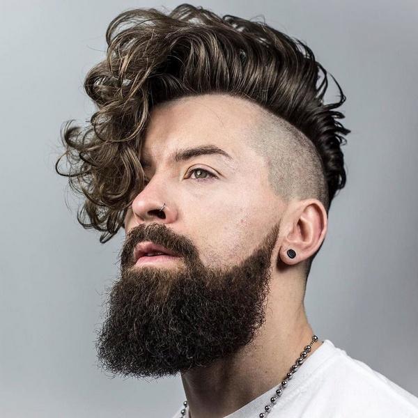 Мужские стрижки если волосы мягкие