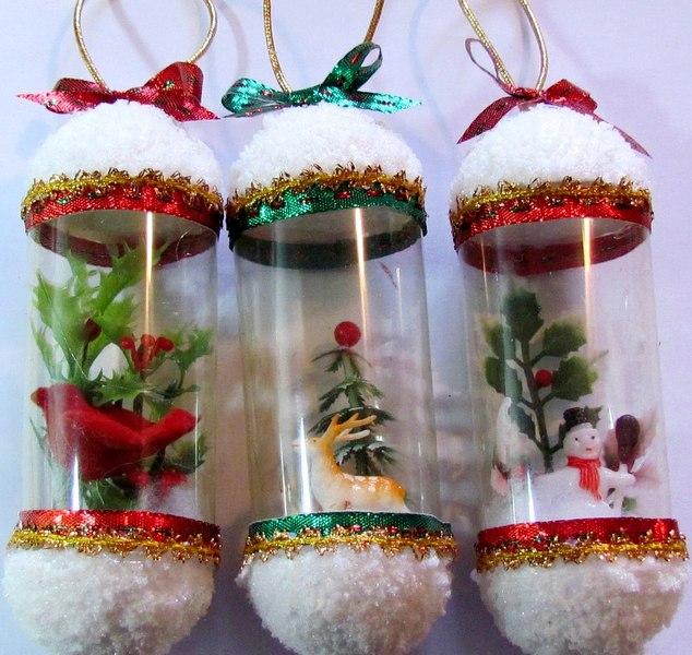 Большие поделки на новогоднюю елку своими руками 12