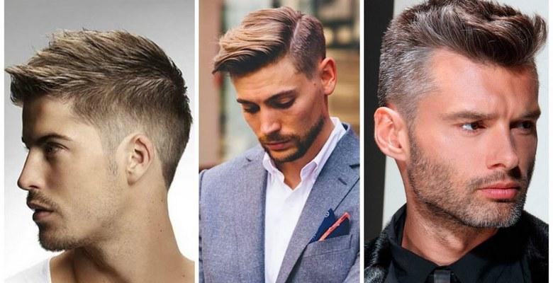 Стильные мужские прически на средние волосы фото