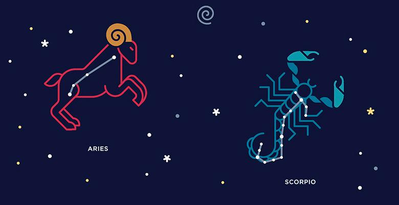 Скорпион женщи  и рак мужчи  гороскоп